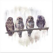 Birds Art Print 207477025