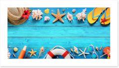Beach House Art Print 207564902