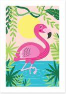 Animal Friends Art Print 210963251