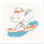 Elephants Art Print 212159869