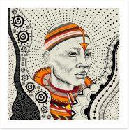 African Art Art Print 212495455
