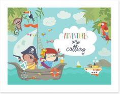 Pirates Art Print 212590427