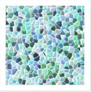 Mosaic Art Print 213365768