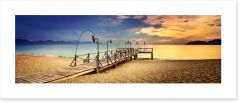 Jetty Art Print 214630338