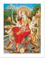 Maa Durga the warrior