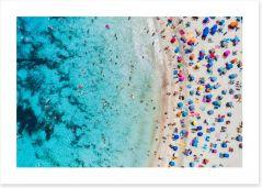 Beaches Art Print 214981010