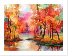 Autumn Art Print 215045320