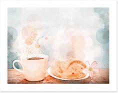 Dining Room Art Print 216689107