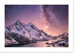 Mountains Art Print 220505792