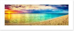 Sunsets / Rises Art Print 222084057