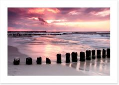 Coastal calm Art Print 22254087