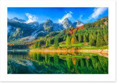 Mountains Art Print 226598688