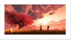 Bedroom Art Print 230018523