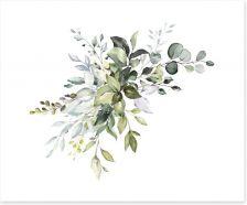 Soft Eucalypt Art Print 230778378