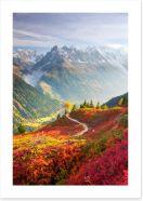 Mountains Art Print 231165198