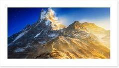 Mountains Art Print 234422362