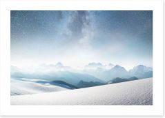 Winter Art Print 235445140