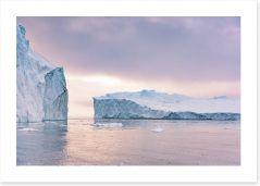 Glaciers Art Print 238965551