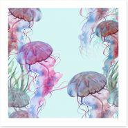 Bathroom Art Print 239434392