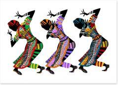 African Art Art Print 24457995
