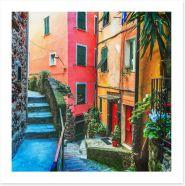 Village Art Print 245606610