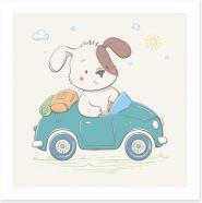 Animal Friends Art Print 252823041