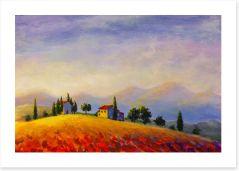 A Tuscan sunset