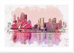 Home Office Art Print 255738065