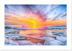 Sunsets / Rises Art Print 259576930