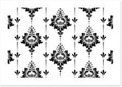 Black and White Art Print 266752612