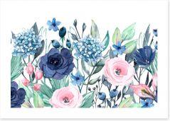 Floral Art Print 269669603