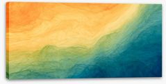 Abstract Stretched Canvas 283285908