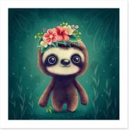 Animal Friends Art Print 292884902