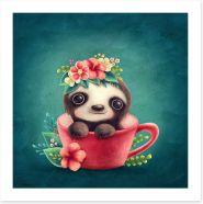Animal Friends Art Print 294252814