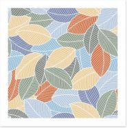 Leaf Art Print 295478436