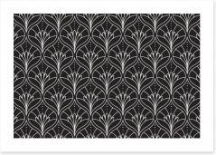 Black and White Art Print 298284985
