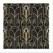 Art Deco Art Print 317529050
