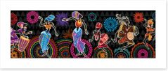 African Art Art Print 323061187