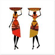 African Art Art Print 33452590