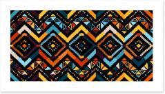 African Art Print 338045015