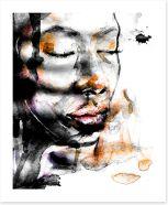 African Art Art Print 352594630