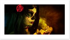 Sugar skull folklore Art Print 35305263