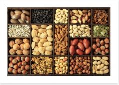Going nuts Art Print 36865627