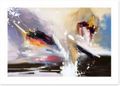 Abstract Art Print 373898162