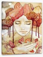 Immersed in Autumn Stretched Canvas 38301380