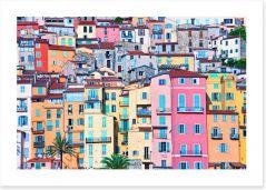 Village Art Print 38730315