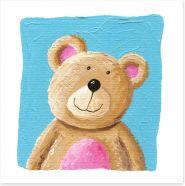 Cheerful bear