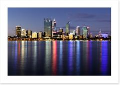 Perth light reflections