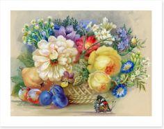 The flower basket