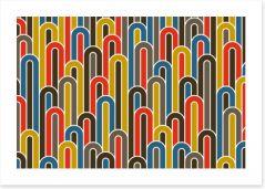 Retro Art Print 415153506